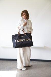 Childhome Verzorgingstas Family Bag zwart/goud-Afbeelding 1