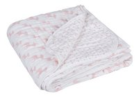Lässig Zomerdeken voor bed Lela light pink tetra