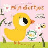 Livre pour bébé Mijn diertjes NL