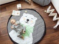 Play&Go Sac de rangement/couverture de jeu Soft ours polaire-Image 3