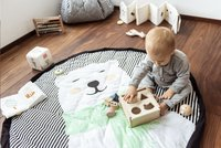 Play&Go Opbergmand/speeldeken Soft ijsbeer-Afbeelding 4
