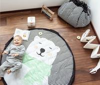 Play&Go Sac de rangement/couverture de jeu Soft Ours polaire-Image 5