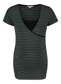 Noppies Mum T-shirt d'allaitement Paris Urban Chic Stripe-Avant