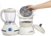 Babymoov Stoomkoker/mixer/flesverwarmer/sterilisator Nutribaby cream-Afbeelding 2