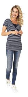 Noppies Mum T-shirt d'allaitement Paris bleu-Image 1