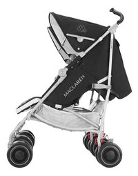 Maclaren Buggy Duo Twin Techno black-Côté droit