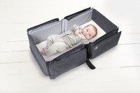 doomoo basics Sac à langer Baby Travel gris anthracite chiné-Image 2