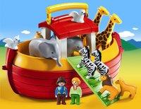 PLAYMOBIL Speelset 1.2.3 Ark van Noah-commercieel beeld