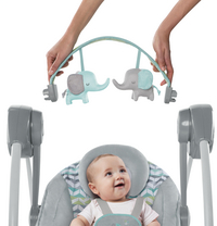 Ingenuity Babyswing Comfort 2 Go Portable Swing Jungle Journey-Afbeelding 2