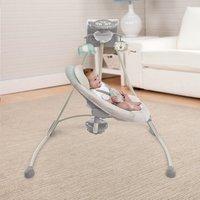 Ingenuity Babyswing Inlighten Cradling Swing Cambridge-Afbeelding 2