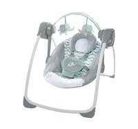 Ingenuity Babyswing Comfort 2 Go Portable Swing Jungle Journey-Rechterzijde