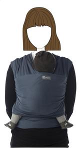Babylonia Rekbare draagdoek Tricot-Slen Organic biokatoen Blue Jeans-Vooraanzicht