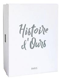 Histoire d'Ours Peluche Les Petits Twist Licorne en tutu 35 cm-Côté gauche