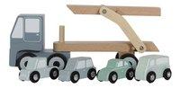Little Dutch Vrachtwagen blauw-commercieel beeld