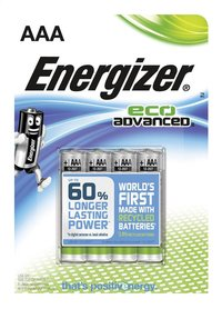 Energizer 4 AAA-batterijen Eco Advanced