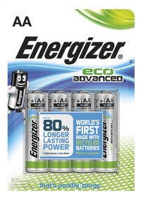 Energizer 4 piles AA Eco Advanced