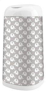 Angelcare Hoes voor luieremmer Dress up elephant grijs/wit-commercieel beeld