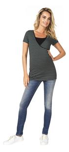 Noppies Mum T-shirt d'allaitement Paris Urban Chic Stripe-Image 1