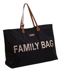 Childhome Verzorgingstas Family Bag zwart/goud-Linkerzijde
