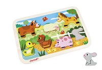 Janod Puzzle Chunky Puzzle Ferme