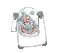 Ingenuity Babyswing Comfort 2 Go Portable Swing Jungle Journey-Afbeelding 4