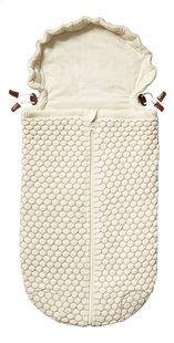 Joolz Voetenzak voor draagbare autostoel Essentials Honeycomb off white