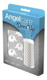 Angelcare Hoes voor luieremmer Dress up elephant grijs/wit-Rechterzijde
