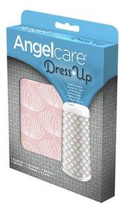 Angelcare Housse pour poubelle à langes Dress up fleur rose-Côté droit