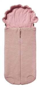 Joolz Chancelière pour siège-auto portable Essentials Ribbed rose