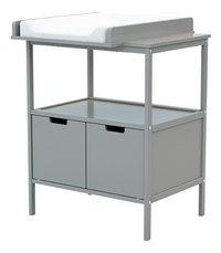 Jurababy Table à langer gris-Côté droit