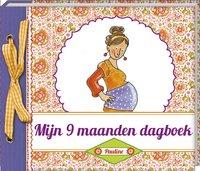 Babydagboek Mijn 9 maanden dagboek - Pauline Oud