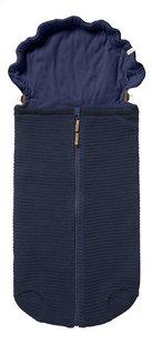 Joolz Voetenzak voor draagbare autostoel Essentials Ribbed blue