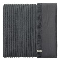 Joolz Couverture Essentials Ribbed anthracite coton bio