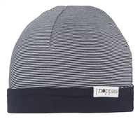 Noppies Bonnet réversible Jandino navy 0-3 mois