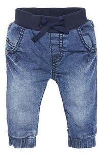 Noppies Broek Jeans Comfort blauw maat 68-Vooraanzicht