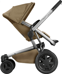 Quinny Wandelwagen Buzz Xtra 2.0 toffee crush-Linkerzijde