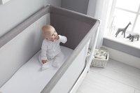Shnuggle Set co-sleeper/bed Shnuggle Air dove grey-Afbeelding 2