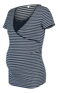 Noppies Mum T-shirt d'allaitement Paris bleu-Côté droit