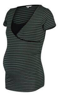 Noppies Mum T-shirt d'allaitement Paris Urban Chic Stripe-Côté droit