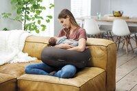 doomoo Coussin d'allaitement Comfy Big Tetra gris-Image 3