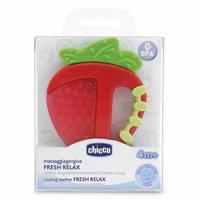Chicco Anneau de dentition rafraîchissant pomme ou fraise-Avant