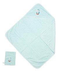 Dreambee Cape de bain et gant de toilette Niyu menthe