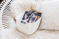 Curver Panier de rangement Knit oasis white-Image 1