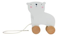 Little Dutch Trekspeeltje ijsbeer-Vooraanzicht