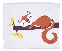Dreambee Couverture pour berceau ou parc Ayko gris clair coton/polyester