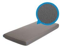 AeroSleep Hoeslaken voor bed grijs polyester B 70 x L 140 cm-commercieel beeld