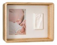 Baby Art Fotokader met gipsafdruk Deep frame wooden wit-Artikeldetail