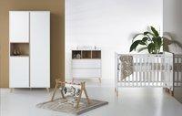 Quax Chambre de bébé 3 pièces avec armoire 2 portes Loft-Image 2