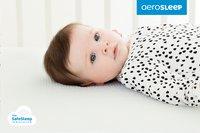AeroSleep Matras voor babybed Evolution + 2 hoeslakens B 60 x L 120 cm-Afbeelding 2