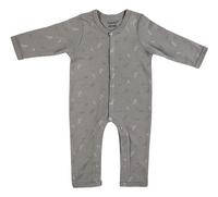 Dreambee Pyjama Essentials aop avion gris foncé-Avant